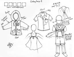 Draw Clothing Design 2 by Diana-Huang