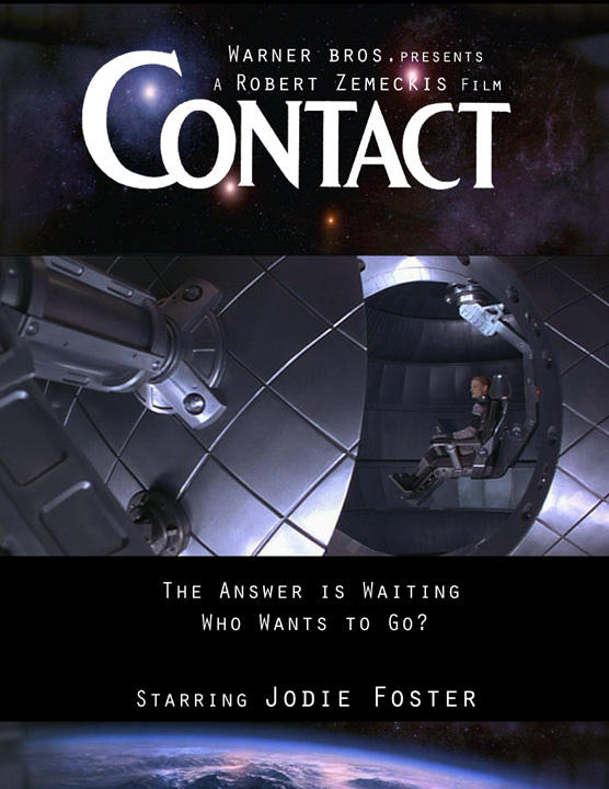 Contact Movie Poster by Diana-Huang