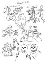 Draw Halloween by Diana-Huang