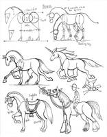 Draw Horse revisions by Diana-Huang