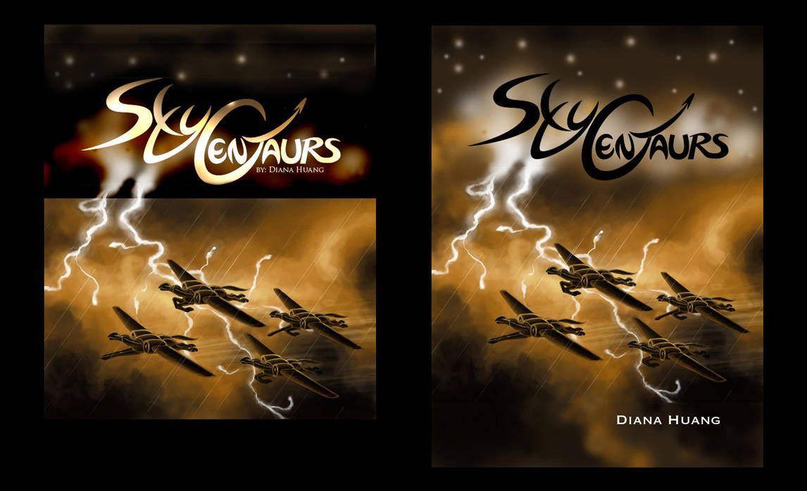 Sky Centaurs Cover Ideas WIP by Diana-Huang