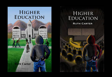Higher Education Novel Bookcover WIP by Diana-Huang