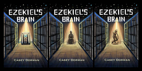 Ezekiels Brain Book Cover Ideas by Diana-Huang