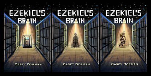 Ezekiels Brain Book Cover WIP by Diana-Huang