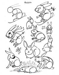 Draw Rabbits Condensed by Diana-Huang