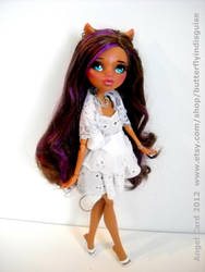 Lil' Miss Clawdeen by ButterflyInDisguise