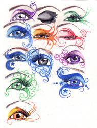 Eyes by ButterflyInDisguise