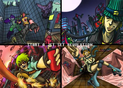 Jet Set Revolution by Bluelava6