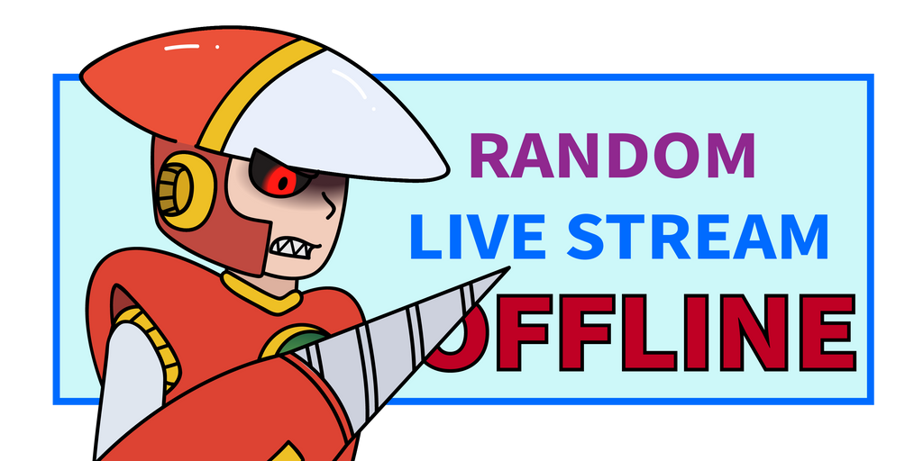 Live stream sign OFF by Randomchiz