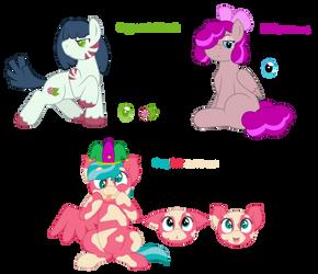 More Ponies by Randomchiz