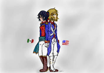 NYOTALIA- mexican-american war by sofiakagamine