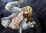 Vampire Lestat fanart by MerulaGFM
