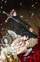Thirst of Angels: Lover's Death by MerulaGFM