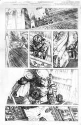 Batman Vs Predator 1 by mikemorrocco