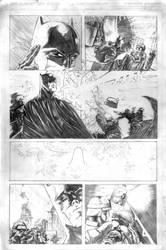 Batman Vs Predator 2 by mikemorrocco