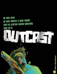Outcast one sheet by mikemorrocco
