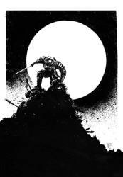 Swordsman by mikemorrocco