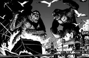KK vs Frankenstein 1 by JolyonYates