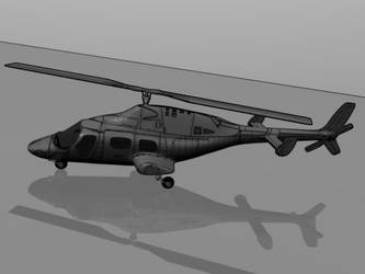 helicopter by 5pln