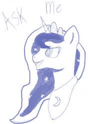 Ask Luna by Flutterdashy