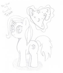 The Great and Powerful Trixie sketch by Flutterdashy