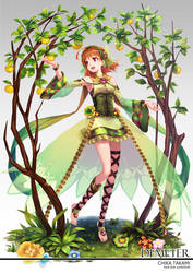 Lovelive Sunshine! Greek god series- Chika Takami by Ragnarok026