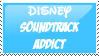 Disney Soundtrack Addict Stamp by CurlyHairedDemon