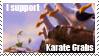 Karate Crabs Stamp by CurlyHairedDemon