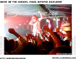 BMTH live Paris, batofar 23.01 by mopiou