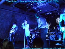 The Faint live  Showcase Paris by mopiou