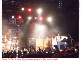ESCAPE THE FATE live in PARIS by mopiou