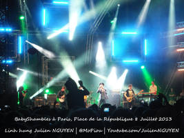 Pete Doherty BabyShambles in Paris 8 Juillet 2013 by mopiou