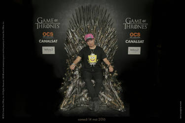 Me on the Iron Throne  by mopiou