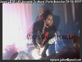 30 SECONDS TO MARS_PARIS_Jared by mopiou