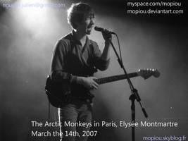 ARCTIC MONKEYS_Paris 14-03-07 by mopiou