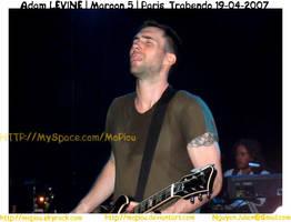 Maroon 5 - Paris Trabendo Adam by mopiou