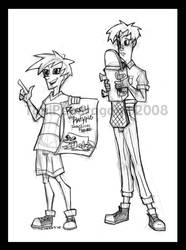 Phineas and Ferb by ToniPendragon
