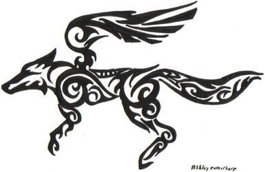 Tribal Starfox Logo by Hylianwolf