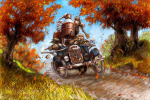 Moonshine Chase - Color by Bjerg