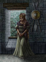 Guinevere Waiting by Bjerg