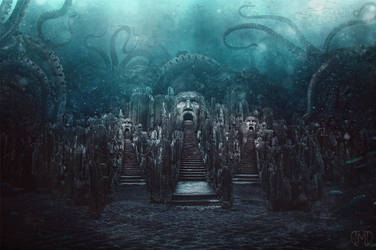 The Lost City of Poseidon by Majentta