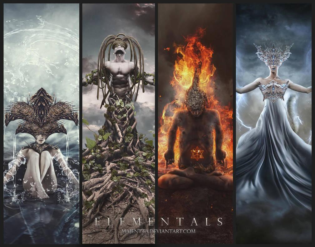 Elementals by Majentta