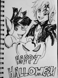 Inktober Day 31 - Happy Halloween! by Solratic