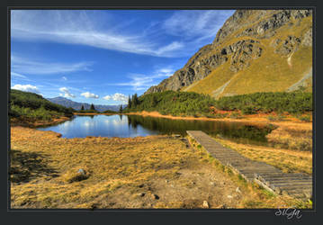 Wiegensee, Montafon by sigapix