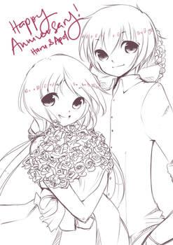 Gift: Happy 3rd Anniversary! by NIEKAORI