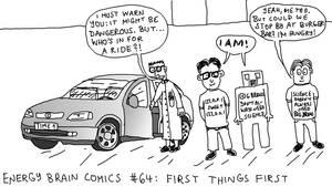 Energy Brain Comics #64: First Things First by EnergyBrainComics