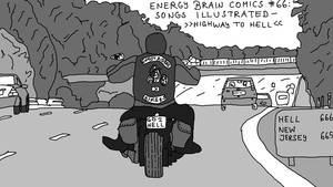 EBC #66: Songs Illustrated -- Highway to Hell by EnergyBrainComics