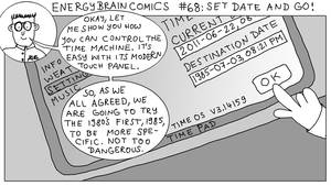 Energy Brain Comics #68: Set Date And Go! by EnergyBrainComics