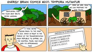 Energy Brain Comics #107: Tempora Mutantur by EnergyBrainComics