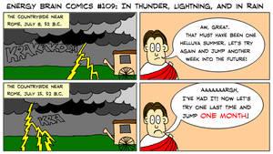 EBC #109: In Thunder, Lightning, And In Rain by EnergyBrainComics